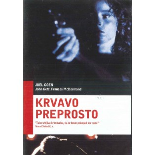 Krvavo preprosto (Blood Simple) - DVD