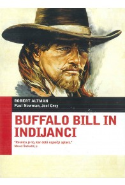 Buffalo Bill in Indijanci (Buffalo Bill and the Indians) - DVD