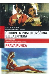 Čudovita pustolovščina Billa in Teda (Bill & Ted's Excellent Adventure) / Prava punca (The Sure Thing) - DVD