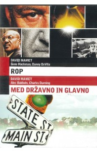 Rop (Heist) / Med državno in glavno (State and Main) - DVD