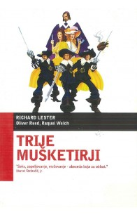 Trije mušketirji (The Three Musketeers) - DVD