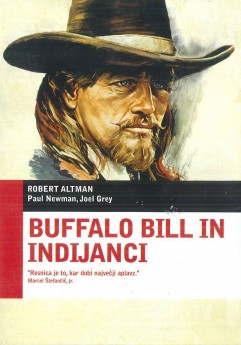 Buffalo Bill in Indijanci (Buffalo Bill and the Indians) - DVD