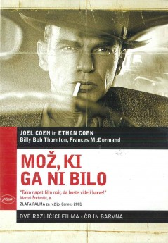 Mož, ki ga ni bilo (The Man Who Wasn't There) - DVD