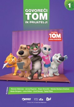 GOVOREČI TOM IN PRIJATELJI 1 (DVD)
