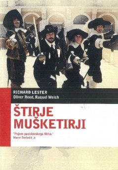 Štirje mušketirji (The Four Musketeers) - DVD