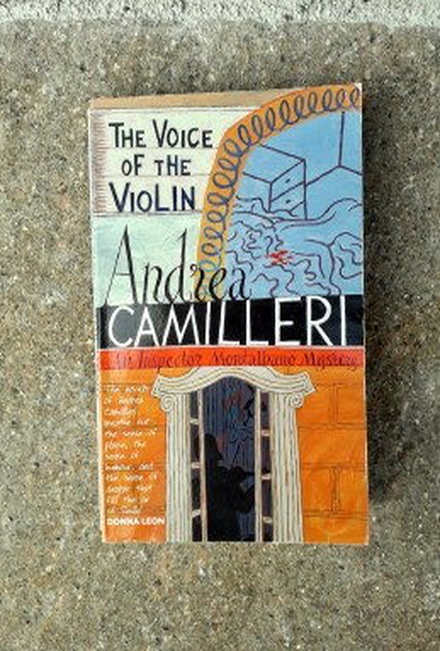 The Voice of the Violin, Andrea Camilleri (ant.)