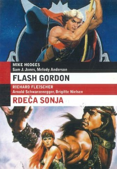 Flash Gordon / Rdeča Sonja (Red Sonja) - DVD