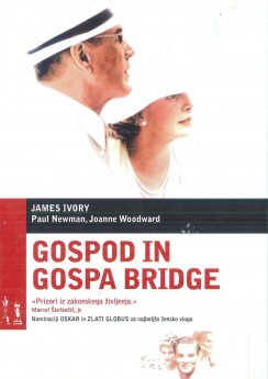 Gospod in gospa Bridge (Mr. and Mrs. Bridge) - DVD