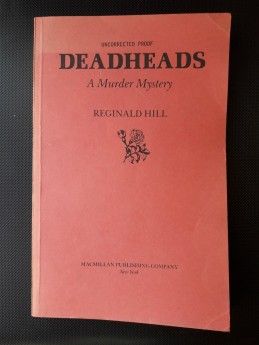 Deadheads, Reginald Hill (ant.)