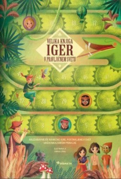 Velika knjiga iger v pravljičnem svetu