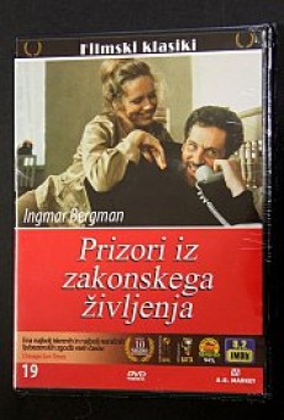 Prizori iz zakonskega življenja (DVD)