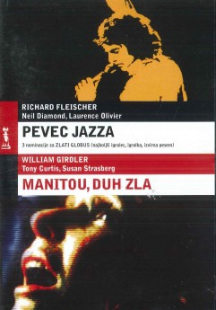 Pevec jazza / Manitou, duh zla (The Jazz Singer / The Manitou) - DVD