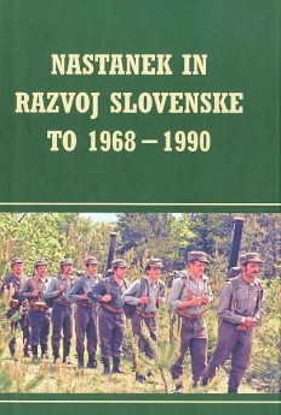 Nastanek in razvoj slovenske TO 1968 - 1990